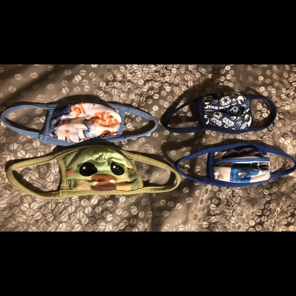 Star Wars face masks (set of 4)